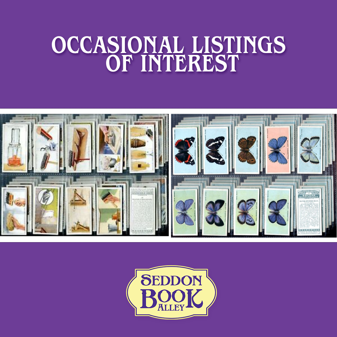 Occasional listings of interest